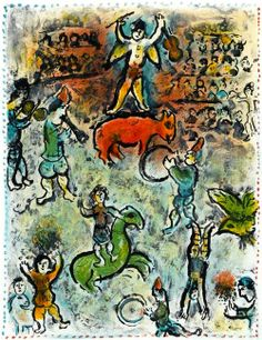 Marc Chagall - Between Surrealism & NeoPrimitivism - Circus