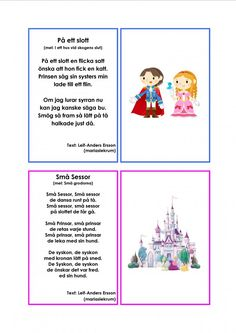 Mariaslekrum - Illustrerade sånger. Crafts For Kids, Singing, Preschool, Education, Comics, Adhd, Bra, Musik, Crafts For Children