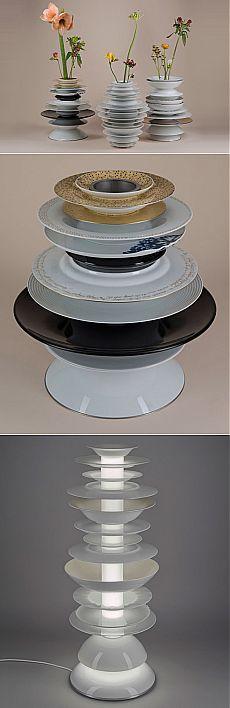 Не выкидывайте ненужные тарелки! | Хвастунишка
