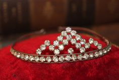 Vintage Diamante Rhinestone Tiara