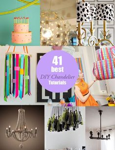 Amazing DIY Chandelier Tutorials!