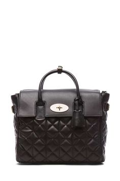 Cara Delevigne Quilted Backpack $1990 #mulberry #7Britishdesignerstowatch