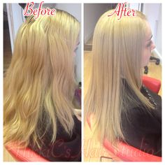 Wanting to go lighter : creamy blonde