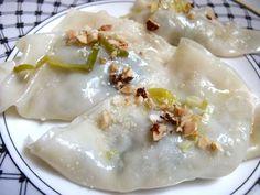 Brussels Sprout & Leek Dumplings Recipe @FoodBlogs