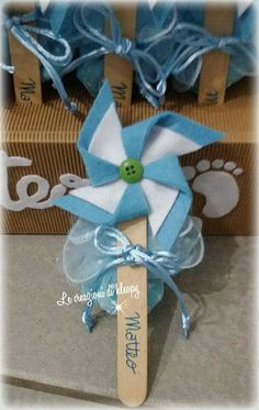 Baby Shawer, Baptism Favors, Party Entertainment, Deco Table, Baby Party, Pinwheels, Christening, Crafts For Kids, Malay Wedding