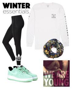 """""""///Day 1///"""" by jesca27 on Polyvore featuring adidas, Billabong, MANGO and NIKE"""