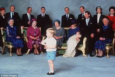A photo history of royal christenings over the last 100 years  #dailymail