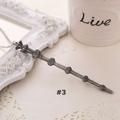 FREE Harry Potter Magic Wand Pendant Necklace (Just Pay Shipping) This Harry…