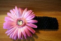 Crochet Headband with Removable Flower by MariasBowTique on Etsy, $4.50