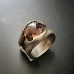 Fully hand-crafted, one-off Smoky Quartz, Rings For Men, Jewellery, Sterling Silver, Crafts, Men Rings, Jewels, Manualidades, Schmuck