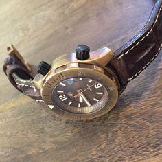 Zelos Bronze Watch