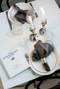 table setting with Dean & DeLuca | magnoliabymia