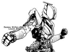 Kamen Rider Den O Liner Form 1 by Uky0.deviantart.com