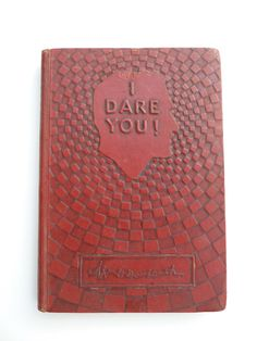 I Dare You book by William Danforth via TheRetroRanch on Etsy, 12.00