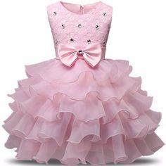Princess Girl Dress Children Sleeveless TUTU Formal Attire