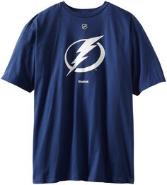 AmazonSmile : NHL Tampa Bay Lightning Primary Logo T-Shirt, Large, Dark Blue : Sports Fan T Shirts : Sports & Outdoors