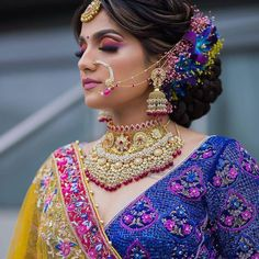 Dpz for girls Latest Dpz, Bridal Makeover, Indian Bridal Makeup, Elegant Bride, Smile Face, Bridal Make Up, Crochet Earrings, Sari, Girls