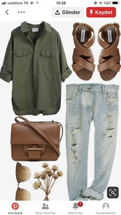 Fashion outfits - Timeless and comfortable jean outfits on the go bequeme outfits on road zeitlose WomensBagEssentials WomensBagTips WomensBagZara Spring Fashion Outfits, Look Fashion, Fall Outfits, Woman Fashion, Autumn Fashion, Casual Outfits, Earthy Outfits, Earthy Fashion, Country Outfits