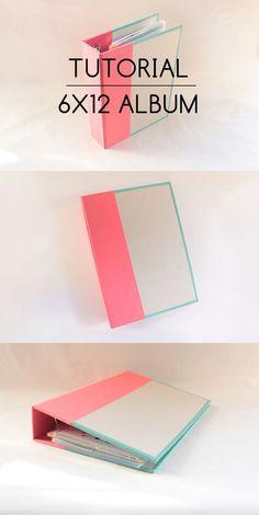 Clear Colours Tutorial: 6x12 album