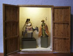 Peru- Arequipa: Convento de Santa Teresa, retablo