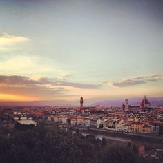 Nothing makes my heart soar more than Florence, my favorite city in the world. #tinabee #iphone4s | by tinabee