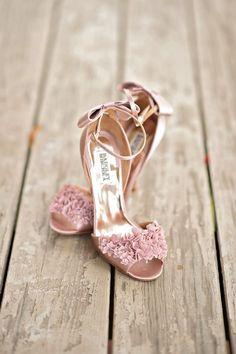 Favorite Real Weddings April 2014 #weddingshoes