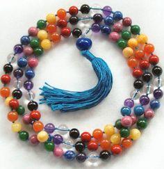 Chakra  Prayer Beads Mala (Grounded Dynamic Energy)