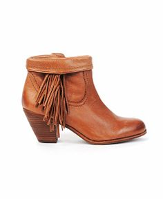 Want want want!! I M obsessing over these!! Size 9 Sam Edelman 'Louie' Leather Fringe Bootie