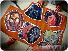 free printable Star wars masks