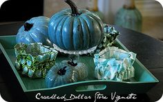 Cool blue pumpkins