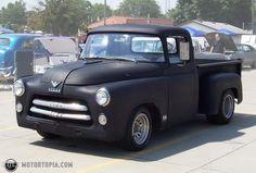 Photo of a 1956 Dodge Pickup (56 Dodge-olet)