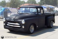 Photo of a 1956 Dodge Pickup (56 Dodge-olet)