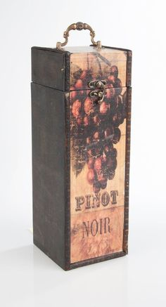 Weinkisten   myboxes.at Pinot Noir, Decorative Boxes, Schnapps, Packaging, Decorative Storage Boxes