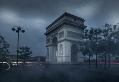 Here is the Arc de Triomphe this photo is part of my urban landscape master class it was a happy accident because I started to do a long exposure but there were too many cars so I took my camera off my tripod and I am quite happy with this end result! Did you guys have had happy accident like this one?  #photoserge #course #lightroom #accident #blue #mood #preset #longexposure #paris #arcdetriomphe #monument