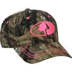 Mossy Oak Women s Pink Logo Camo Hat - Dick s Sporting Goods Mossy Oak Camo 0b8a7a3a93fc