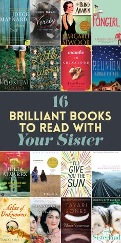 16 Brilliant Books To Read With Your Sister