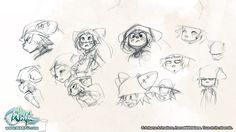 Dragoduck in a hat // Wakfu Concept Art The thing I can watch for...