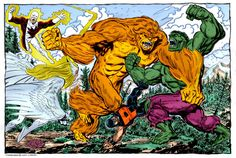 alpha flight vs hulk by ~namorsubmariner