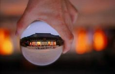 Simon Bond: crystal ball photos