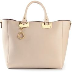 Sophie Hulme Adjustable Tote Bag found on Polyvore