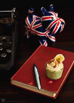banana-salted-caramel-cupcakes  -blog by Billy Law, MasterChef Australia 2011