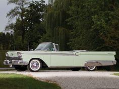 1959 Ford Galaxie Skyliner Retractable Hardtop