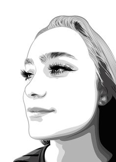 Vector Portrait, Digital, Art, Art Background, Kunst, Performing Arts, Art Education Resources, Artworks