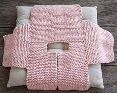 Resultado de imagem para tutoriales chaquetitas bebe