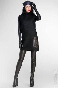 leather gloves and thigh high boots Gloves Fashion, Fashion Boots, Sexy Outfits, Cool Outfits, Crotch Boots, Elegant Gloves, Leder Outfits, Black Leather Gloves, Elegantes Outfit