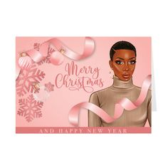Merry Christmas Card, Black Christmas, Christmas Quotes, Christmas Art, Christmas Greetings, Black Artwork, American Greetings, African American Women, Paper Cards
