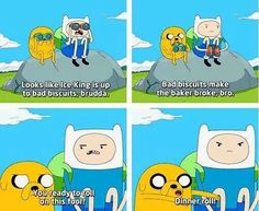 Finn and Jake moments!