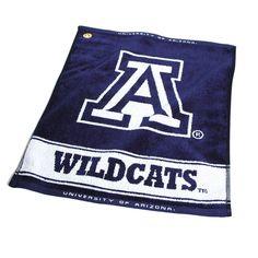 Arizona Wildcats Ncaa Woven Golf Towel