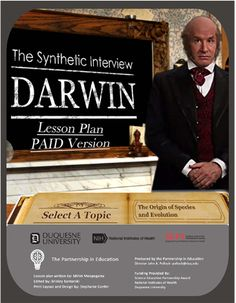 Converse with Darwin about his life and contributions to science Learning Resources, Student Learning, List Of Questions, This Or That Questions, Charles Darwin, A Classroom, Evolution, Insight, The Selection