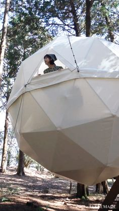 Outdoor Survival, Outdoor Gear, Tent Camping, Glamping, Geodesic Dome, Camper Life, Japan Travel, Building Design, Backyard